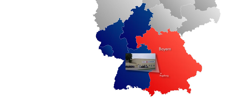 GÖHRUM Liefergebiet: Bayern